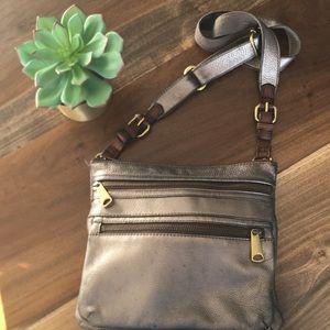 FOSSIL Explorer Leather Crossbody
